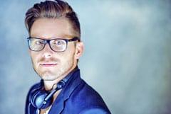 DJ Marc Aurel beim Jubiläum-Festabend