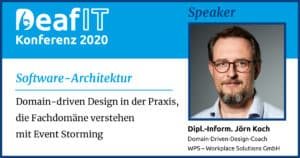 DeafIT20 Speaker Jörn Koch Software-Architektur