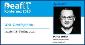 DeafIT Speaker Marco Emrich Web-Development
