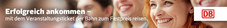 DB Bahn günstiges Veranstaltungsticket
