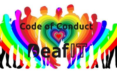 Code of Conduct während der DeafIT Konferenz