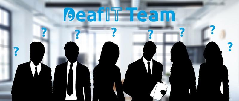 Das DeafIT Team: Wer sind wir?
