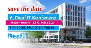 DeafIT2021 New date