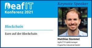 DeafIT 2021 Keynote Speaker Matthias Stommel