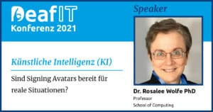 DeafIT 2021 Speaker Rosalee Wolfe