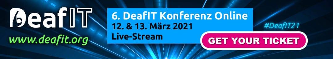 6. DeafIT Konferenz wird zur Online-Konferenz