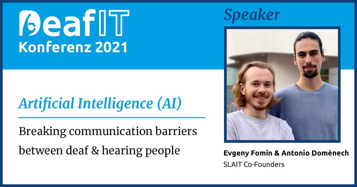 DeafIT 2021 Speaker Lars Hupel