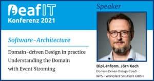 DeafIT 2021 Speaker Jörn Koch
