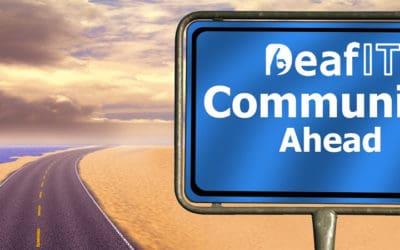 Warum Du an der DeafIT Konferenz Online 2021 teilnehmen solltest?