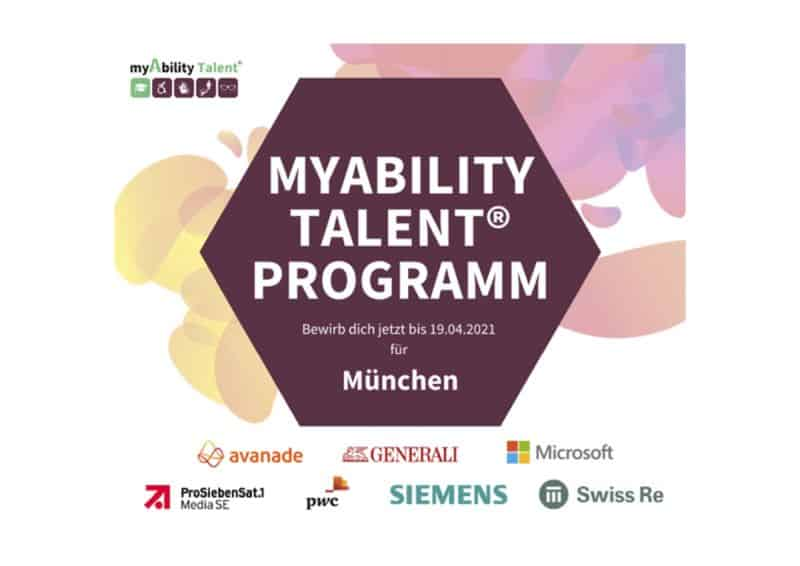 myAbility Talent Programm München: Jetzt bewerben!